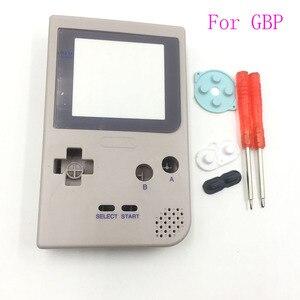 Image 4 - Için DMG 01 Sınırlı Sayıda Gri Tam Konut Shell Düğmeler Mod Onarım Nintendo Game Boy Cep GBP