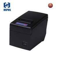 pos 58 printer thermal driver ticket printer ethernet button high speed 130mm/s quality printing slip machine one year warranty