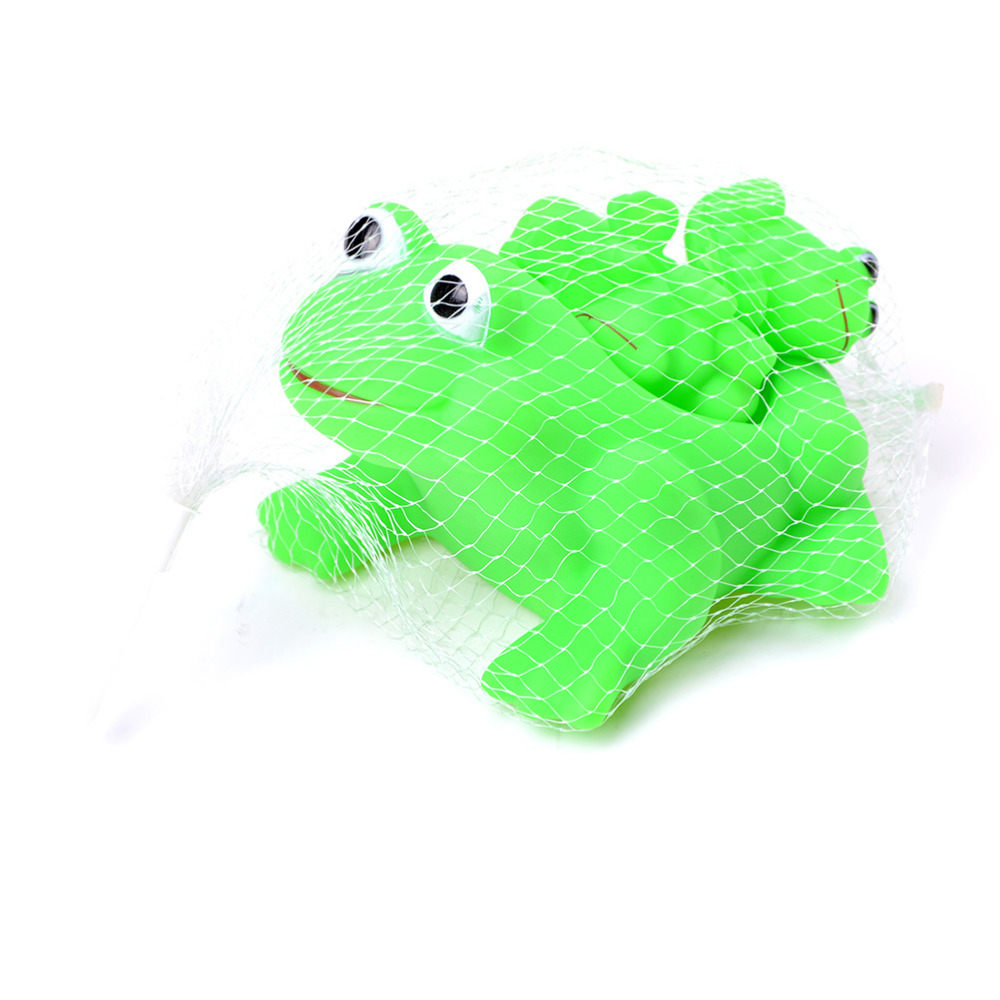 Frog bathroom set - 1 Set 4pcs Children Playing Water Frog Toy Set Mother Bathing Bath Animal Toys Classic Toys Best Selling