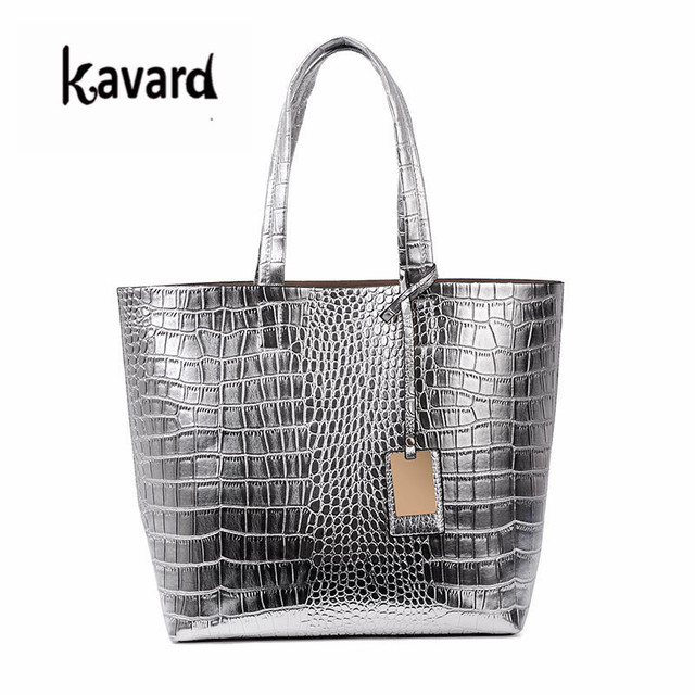7811c6cde2f7 Casual Tote Crocodile Alligator Beach ladies hand bag spanish brand sac  luxury handbag pochette woman bags