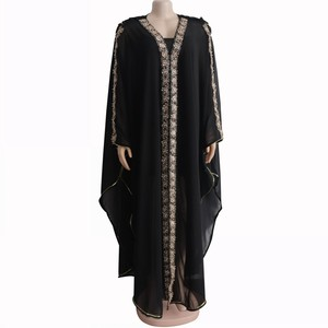 Image 1 - Length 150cm African Dresses For Women Africa Clothing Muslim Long Dress High Quality Length Fashion African Dress For Lady