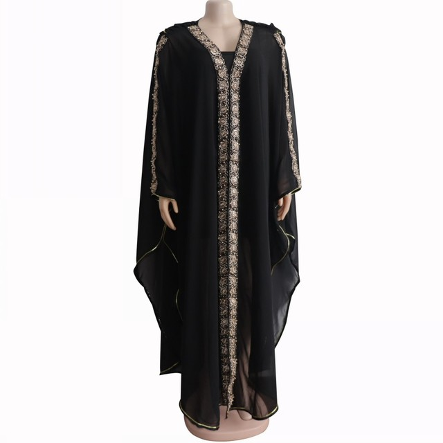 Length 150cm African Dresses For Women Africa Clothing Muslim Long Dress High Quality Length Fashion African Dress For Lady