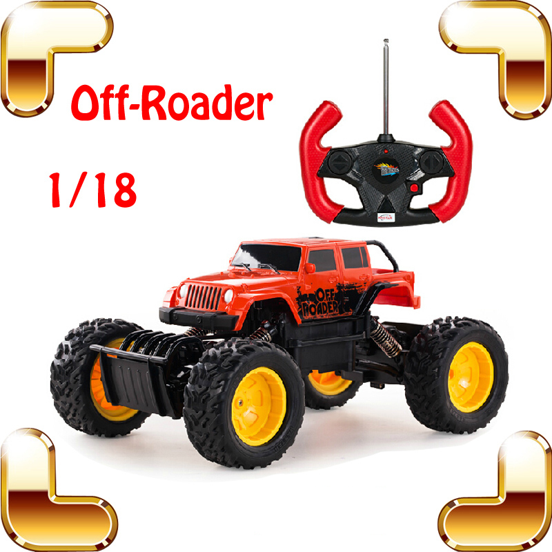 New Year Gift 1/18 Off Roader RC Large Car Huge Truck Remote Control Toy Crash Buggy ORV Vehicle Climbing SUV Model Present Toys 1 18 all new jeep wrangler willys 2017 cabrio off road vehicle suv alloy toy car