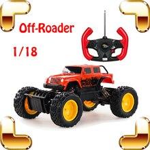 Подарок на Новый год 1/18 внедорожник с RC большой автомобиль огромный грузовик Дистанционное управление игрушка защитный Багги ORV автомобиль восхождение внедорожник модель присутствует Игрушечные лошадки