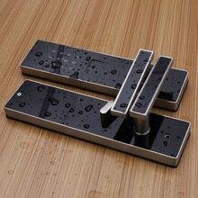 Waterproof Smart Lock Digital Door Lock, biometric door lock with wifi Bluetooth, Keypad Keyless Door Lock for Home Apartment