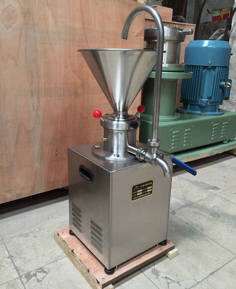 Tomato Jam Chili Sauce Colloid Mill Chocolate Paste Sesame Peanut Butter Machine for Food/Chemical/Pharmaceutical/Daily Chemical