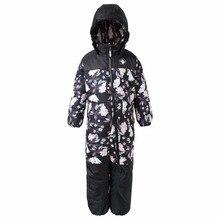 M oomin 2017หลวมฤดูหนาวเด็กกางเกงกันน้ำอุ่นj umpsuitเด็กทารกโดยรวมซิปบินการ์ตูนฤดูหนาวหิมะกางเกงสีฟ้า