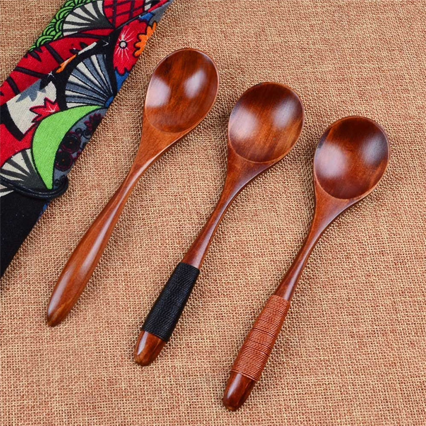 ᗑ Big Promotion For Spoon Soup Wooden And Get Free Shipping