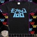 Nuevo Anime Psycho Mob 100 Camiseta Mobu Saiko Hyaku camiseta Hombres de La Moda de algodón camisa de la base Tees