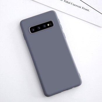 Galaxy S10 Plus Thin Liquid Case