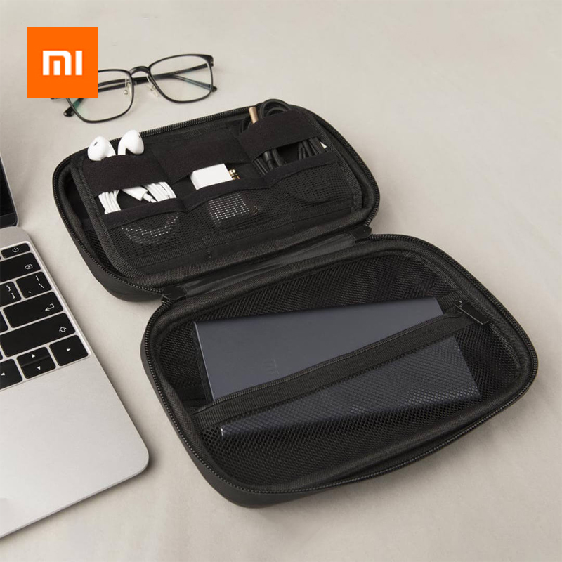 Xiaomi Портативный ЭВА сумка для хранения водонепроницаемый мешок для хранения для беспроводных наушников/кабеля/U диск/TF карты наушников Аксессуары-in Аксессуары для наушников from Бытовая электроника