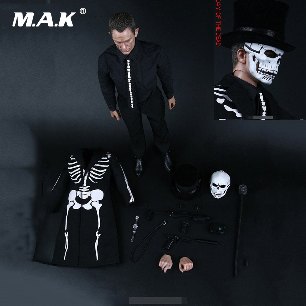 Collectible 1:6 Scale Full Set Action Figure The Day of the Dead Specter GUESS ME SERIES Daniel Craig James Bond Model Toys