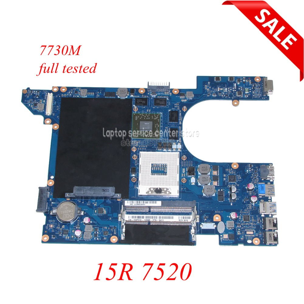 NOKOTION laptop motherboard For dell Inspiron 15R 7520 DDR3 QCL00 LA-8241P CN-04P57C 4P57C Radeon HD 7730M HD4000 Main board nokotion laptop motherboard for dell inspiron n7010 mainboard ddr3 0gkh2c cn 0gkh2c gkh2c da0um9mb6d0 without graphics card