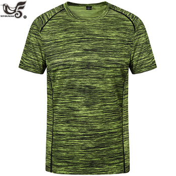 plus size L~8XL Men's Cool Running Workout quick Dry Fitness