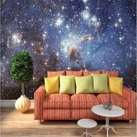 Beibehang hình nền 3d ảnh nền phòng ngủ chính phòng nhiếp ảnh galaxy đăng giấy bức tranh tường mural-3d papelle parede tapete