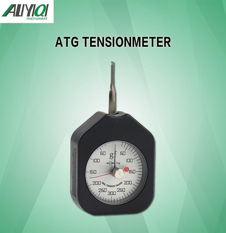 ATG-300-2 300g аналоговый датчик контроля натяжения с циферблатом tensiometer двойные поинтертабуреты измеритель напряжения