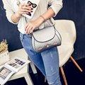 2017 Fashion New style Women Small Flat catoon Crossbody bag Female brief shoulder messenger handbag Woman BAGS