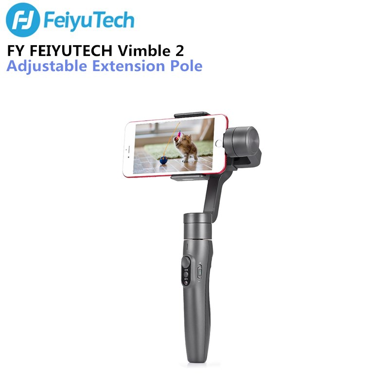 цена на FY FEIYUTECH Vimble 2 Handheld Gimbal Stabilizer with Adjustable Extension Pole for Smartphone