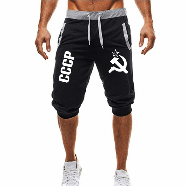 2019 New Fitness Short Jogging Casual Workout Clothes Men's  3XL Shorts Summer New Fashion Men's Casual Men's Knee Long Shorts