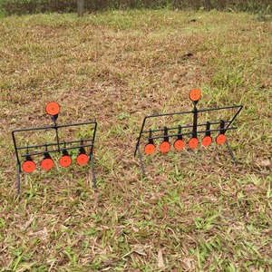 Image 5 - Outdoor Schieten 5/7/9 Reset Doel Ring Paintball Airsoft Bb Lood Schieten Doel Toepassing Doel