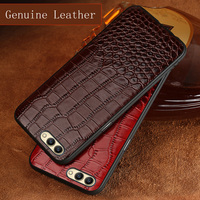 Phone Case For Huawei Honor 9 10 V9 V10 Case Luxury crocodile Texture case For P10 plus P20 Mate 9 10 Pro cover