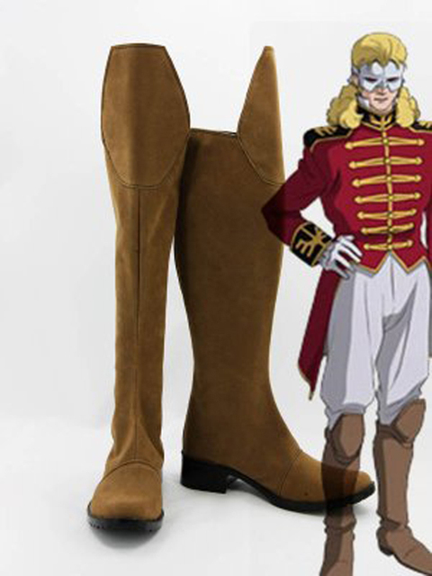 MOBILE SUIT GUNDAM Unicorn Full Frontal Cosplay Boots Shoes Anime Party Cosplay  Boots for Adult Men