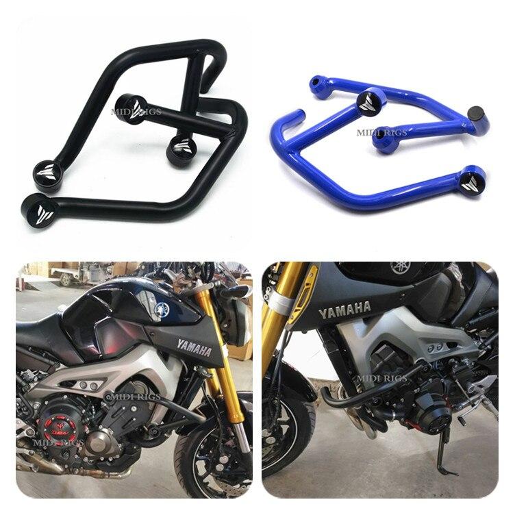 Motorcycle Crash Bar for Yamaha MT09 FZ09 2013 2014 2015 2016 Frame Engine Protection Guard Bumper Tracer MT 09 Accessories Moto crash bar mt 09