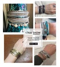 Women's Vintage Multilayer Leather Bracelet