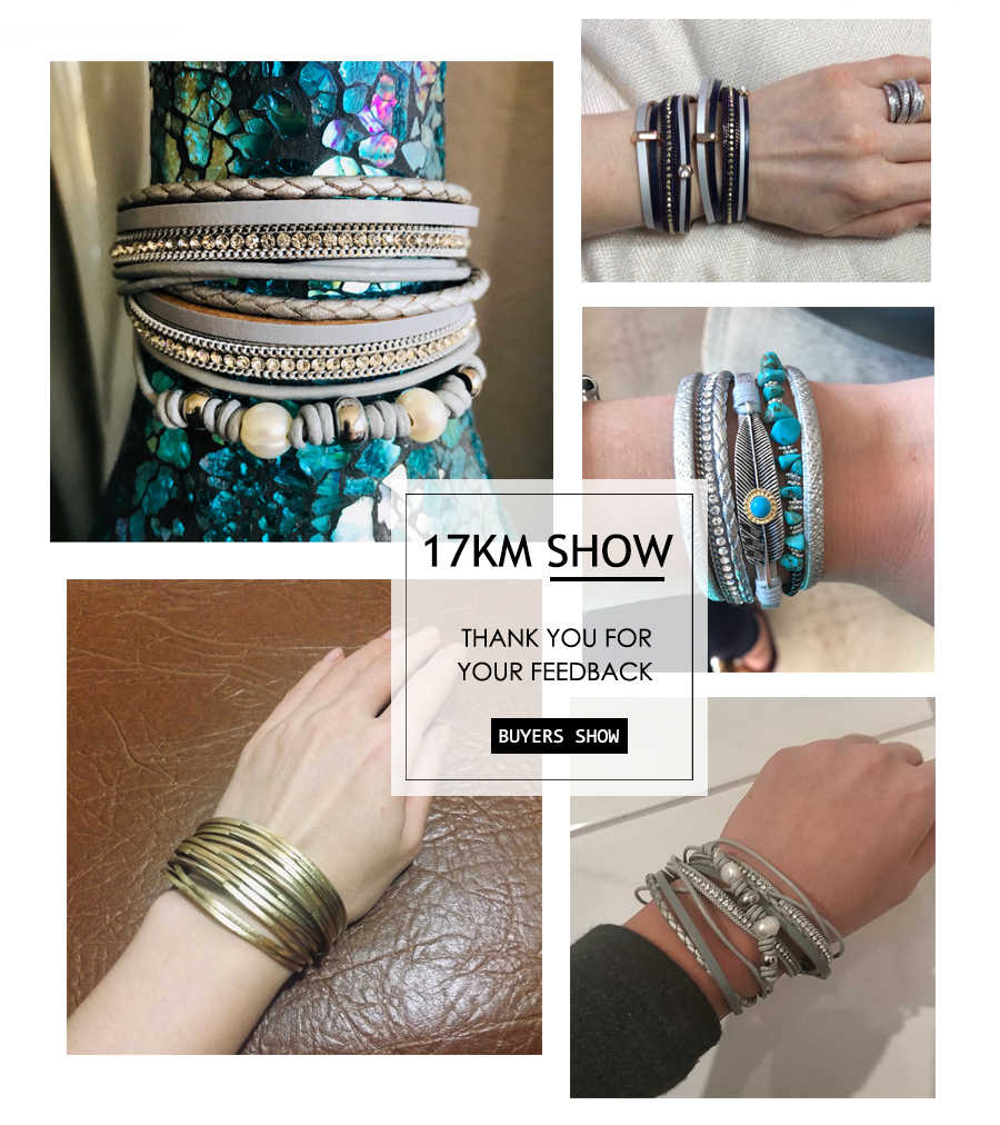 26 Design Vintage Multiple Layer Leather Bracelet For Women Men New Bead Pearl Charms Wrap Bracelets 2019 Femme Fashion Jewelry