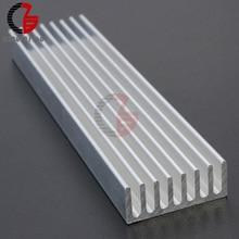 100x25x10 мм алюминиевый радиатор охлаждения светодиодный IC транзистор для компьютера