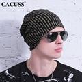 CACUSS Popular Women Beanies Cross Hat Autumn Winter Letters Hats For Men Women Outdoor Hats Christmas Gifts Hip-Hop Cotton Cap