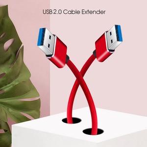 Image 5 - Kebidu 3 色スーパースピードオス Usb に USB 2.0 ケーブル USB ケーブル延長データ同期ケーブルコンピュータ PC 1 メートル
