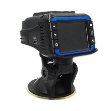 HD 720 P Del DVR Del Coche Oculto Cámara Del Vehículo Grabador de Vídeo Dash Cam 2 en 1 detector de radar dvr Del Coche cámara de Visión nocturna coche-detector