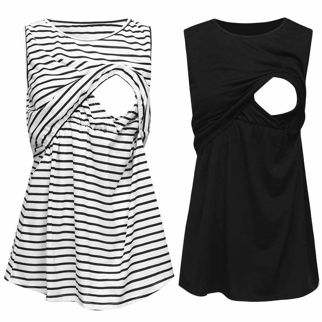 Vetement femme 2019 для женщин для беременных и матерей после родов одежда платье без рукавов Мама Кормящих жилет для малышей для беременных и кормящих Топы корректирующие