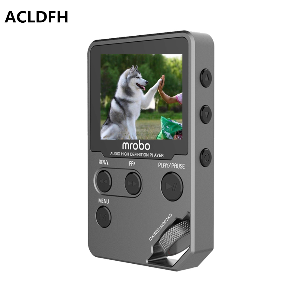 ACLDFH HIFI 8GB MP3 PLAYER 1.8 Inch Screen Play 60hours mp3 player High Sound Quality Music Player Support 32G TF Card FM E-book цена и фото