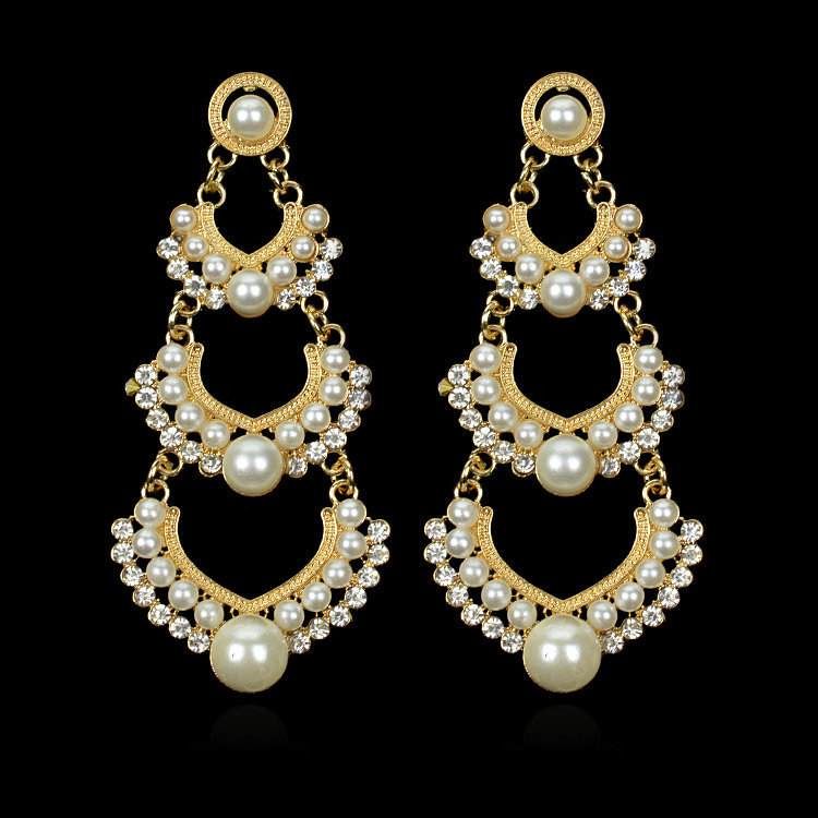 Long Pearl Earrings With Pearl Jewelry The Girl With The Pearl ...