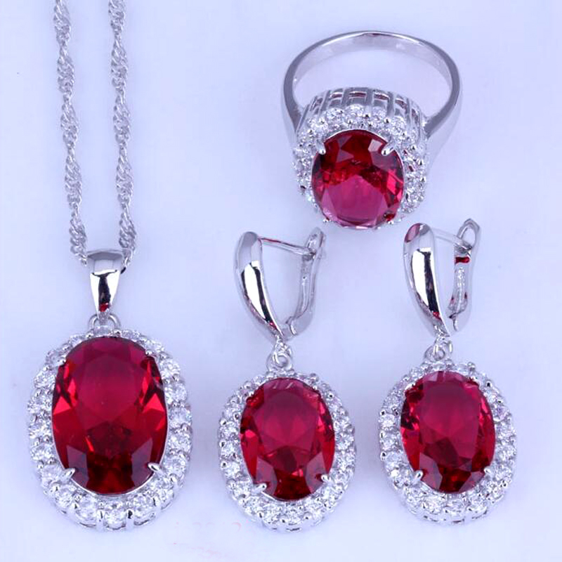New Fashion Necklace Earrings Ring Jewelry Set 3 Piece Jewelry Wholesale 18N0002