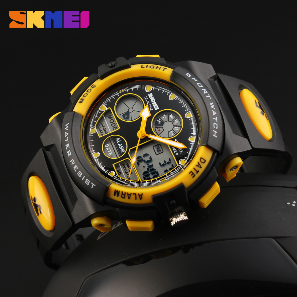 Image 5 - SKMEI Children's Watches Sport Military Fashion Kids Digital Quartz LED Watch For Girls Boys Waterproof Cartoon Wristwatch-in Children's Watches from Watches