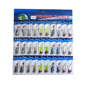 Image 2 - OLOEY 30PCS fishing lure artificial metal spoon silicone wobbler fishing spinner lures deep carp bait diving perch wobbler fish