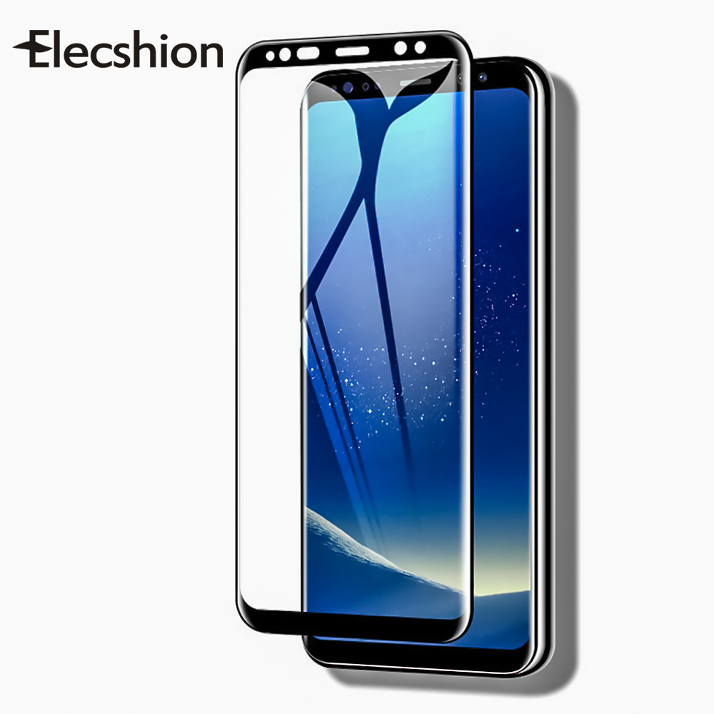Full Curved Tempered Glass Film For Samsung Galaxy Note 8 9 S10 S9 S8 Plus S7 Edge Screen Protector Glass For Samsung A6 A8 2018 Samsung Galaxy S10