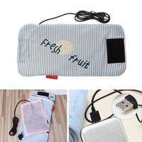 Travel Stroller USB Milk Water Warmer Insulated Bag Baby Nursing Bottle Heater