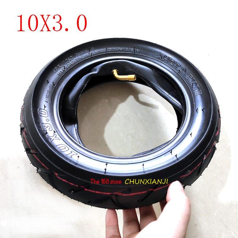 Super 10x3.0 pneu fora do pneu interno Para KUGOO M4 PRO Scooter Elétrico roda 10 polegada elétrica Dobrável roda de scooter pneu 10*3.0