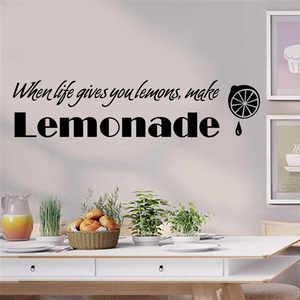 Image 1 - Съемные наклейки на стену с буквенным принтом, украшение дома для детей, милое украшение для детской комнаты, креативная Настенная Наклейка
