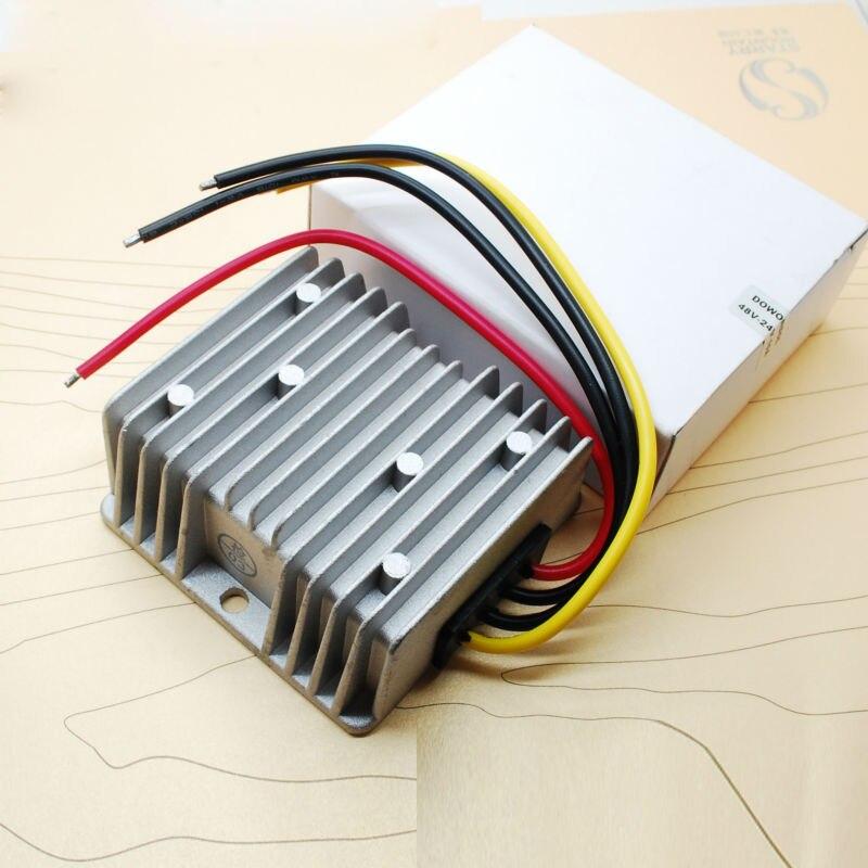 240 W/10A 12 v à 24 v dc convertisseur 12 V Boost buck 24 V 240 Wmax 10 Amax stabilisateur de tension de voiture/convertisseur étanche