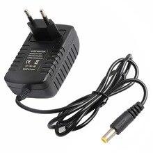 Лучшее качество AC DC адаптер 110 220 В до 12 В 1A 2A 3A 4A 5A 6A 8A адаптер питания 5,5*2,5 мм разъем 12 вольт блок питания