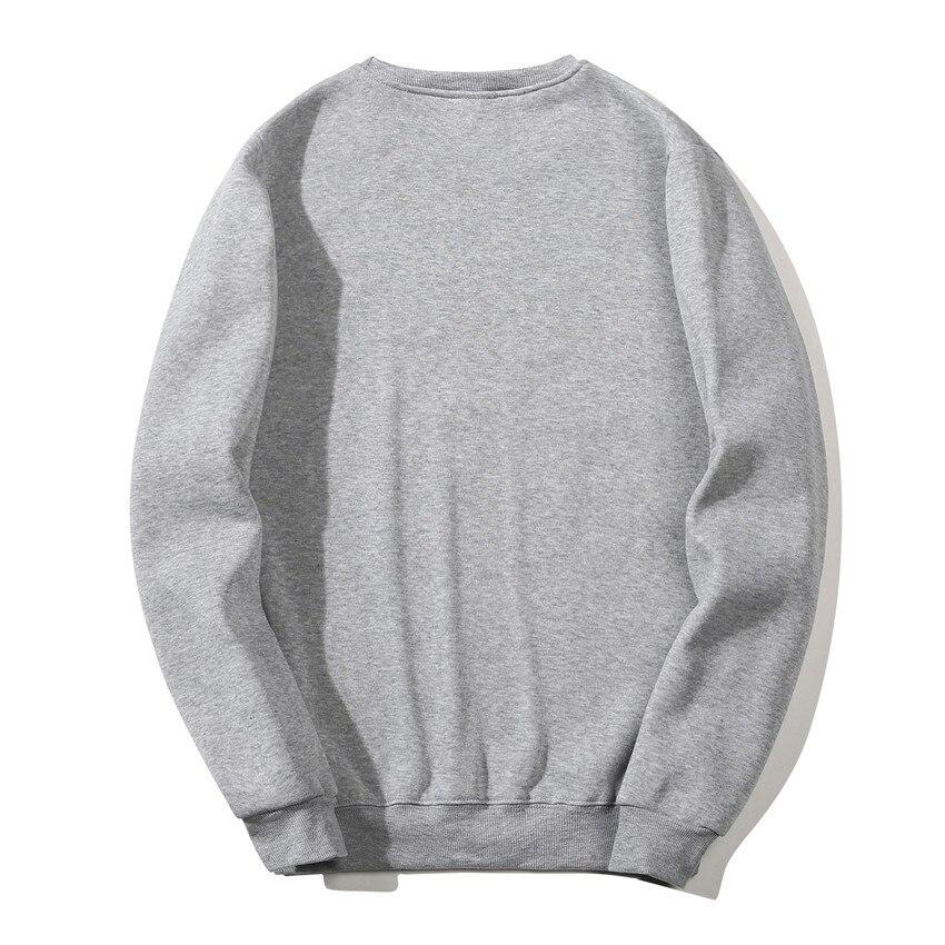 Solid Sweatshirts Spring Autumn Fashion Hoodies Male Warm Fleece Coat Hip Hop Hoodies Sweatshirts 34