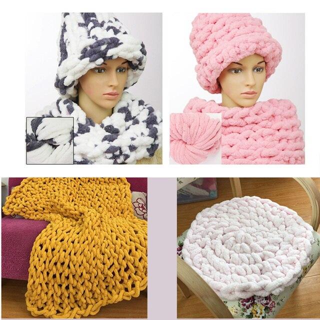 Warme Dikke Garen Voor Breien Threads Hand Knit Kussen Zachte