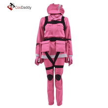 Gun Gale Online Cosplay Costume VRMMO GGO Pitohui BoB Sword Art SAO Pink Clothes Hot Game CosDaddy