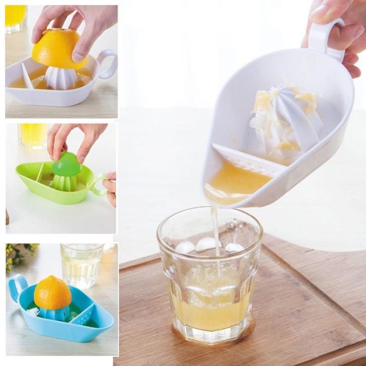 1 Pcs Plastic Manual Juicer Orange Lemon Squeezers Fruit Tool Orange Juice Maker Kitchen Accessories Cooking