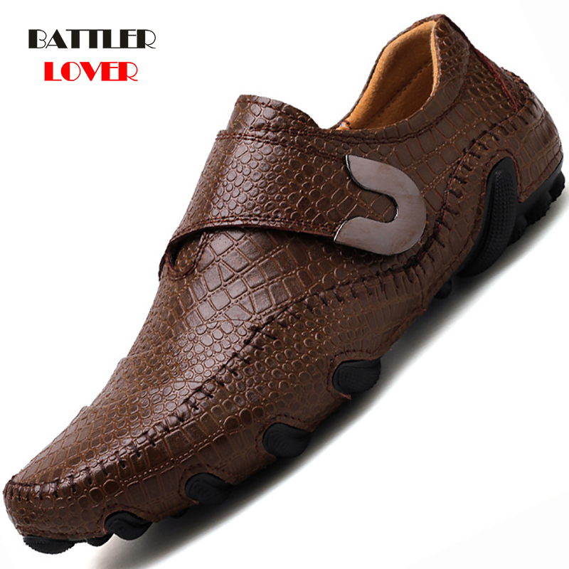 Luxury Casual Shoes Men's Loafers Genuine Leather Flat Slip On High Quality Designer Octopus Shoes Mens Moccasins Sneaker Shoes